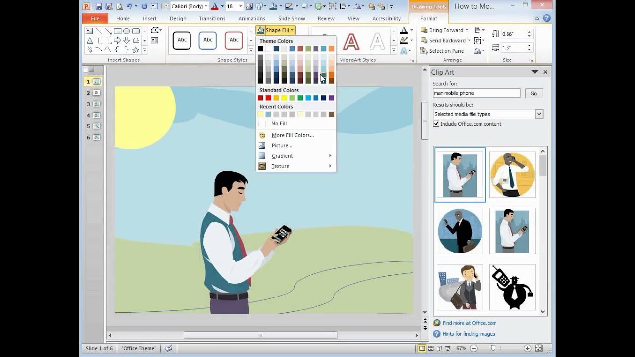 Clip Art Clipart On Powerpoint 2013 microsoft powerpoint 2013 how to modify clipart youtube clipart