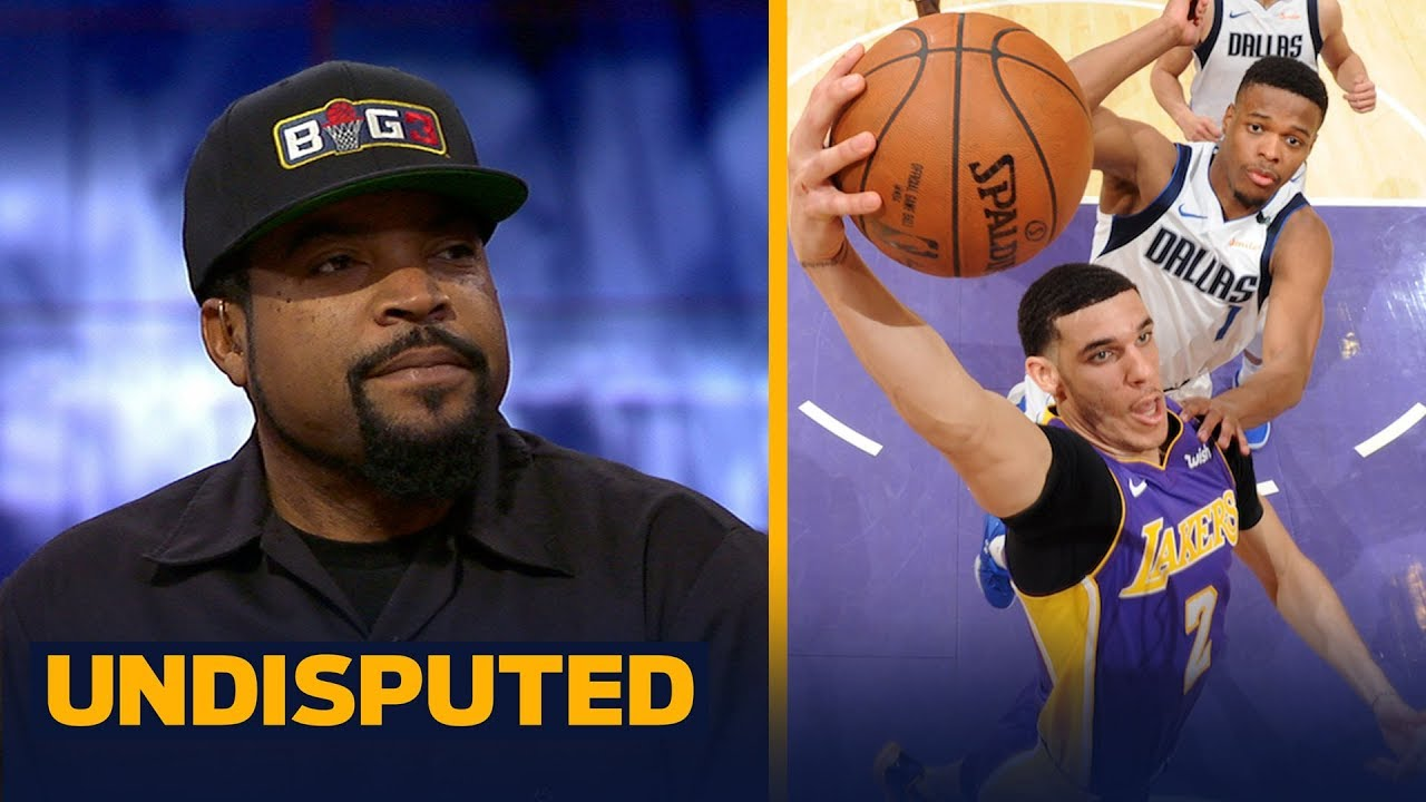 fac9f71047e Ice Cube reacts to LaVar Ball saying the Lakers are Lonzo s team ...