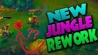 NEW SEASON 7 JUNGLE REWORK?? Plants + Camp Changes - League of Legends