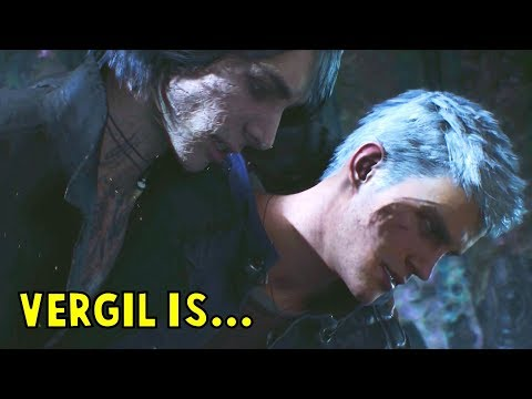 V Confesses The Truth To Nero About Vergil - Devil May Cry 5 (DMC5 2019) thumbnail