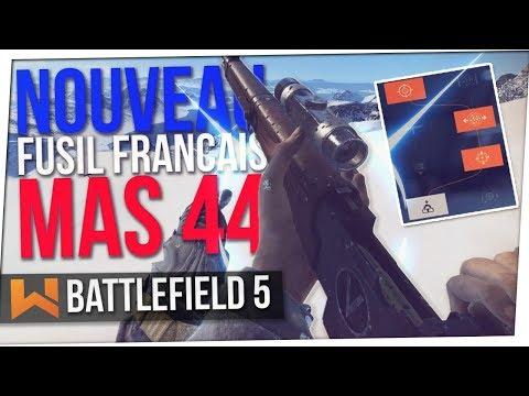 NOUVELLE ARME FRANCAISE MAS 44 : UNE BLAGUE ? | Battlefield 5