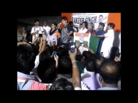shakti kapoor election rally at kolkata