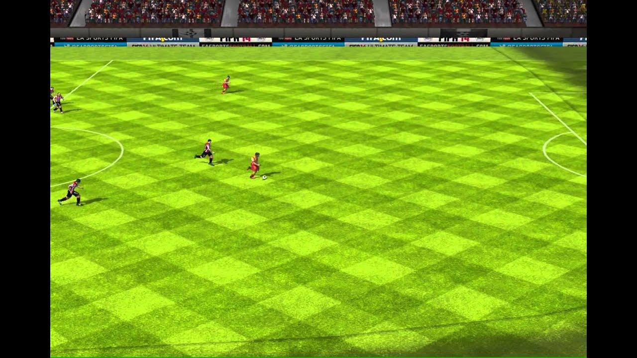 FIFA 14 iPhone/iPad - Athletic Bilbao vs. FC Barcelona ...