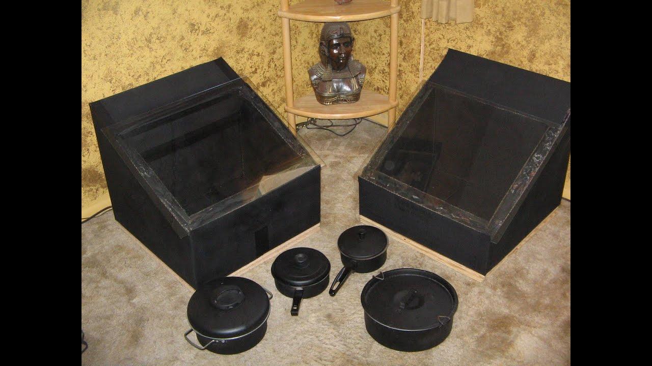 solar oven DIY solar box cooker - solar