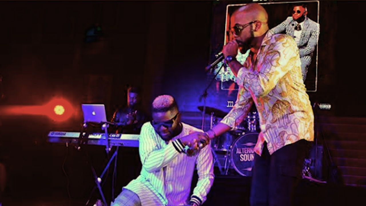 Download Watch Banky W Surprise Performance With Skales At {Mr Love} Album Listening Party