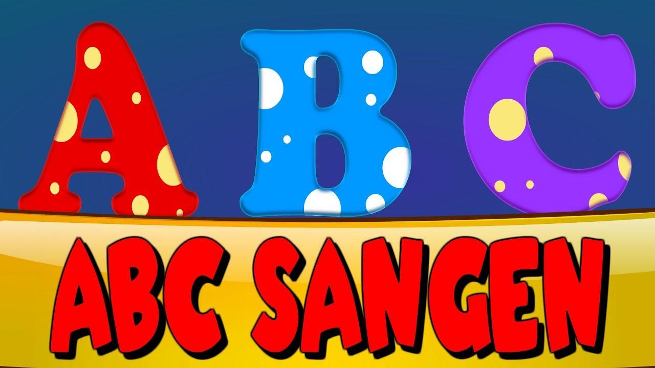 ABC Sangen | Dansk  Alfabet | Danish Alphabet Song | Børnesange på dansk