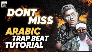 How To Make Arabic Trap Beat With @ANKEE   Arabic Beat Tutorial   Sound Selection   Arabic Trap