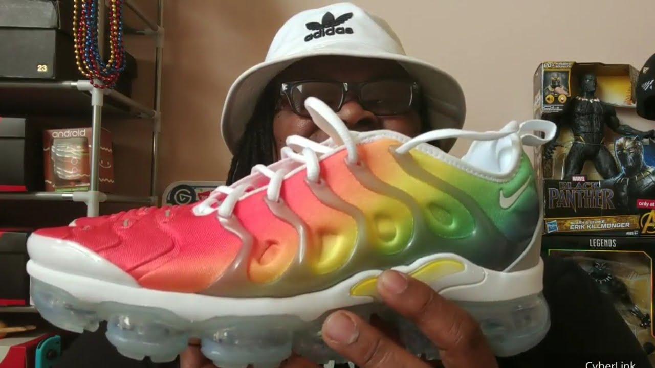 6ac16d42db9 Lady and her Kicks  Nike Air Vapormax Plus aka Rainbow aka Neptunes ...