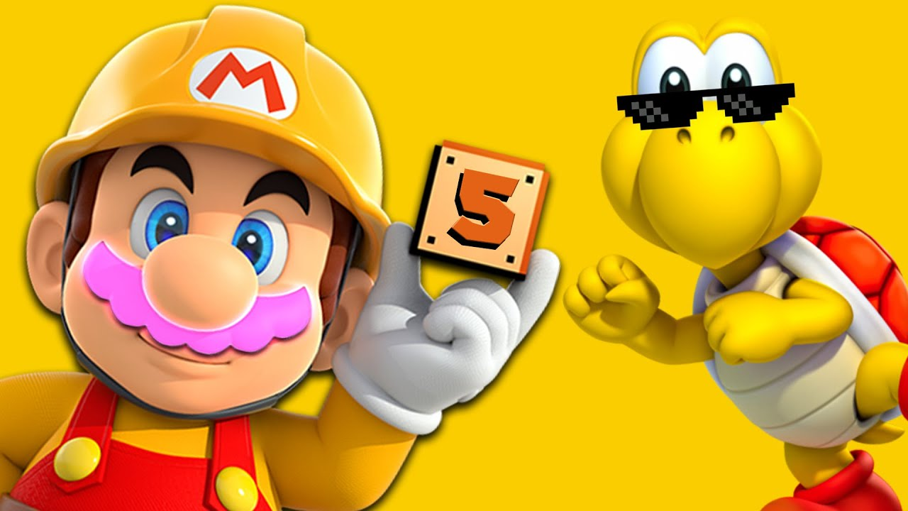 RAGE MARCHES ON!! | Mario Maker #5