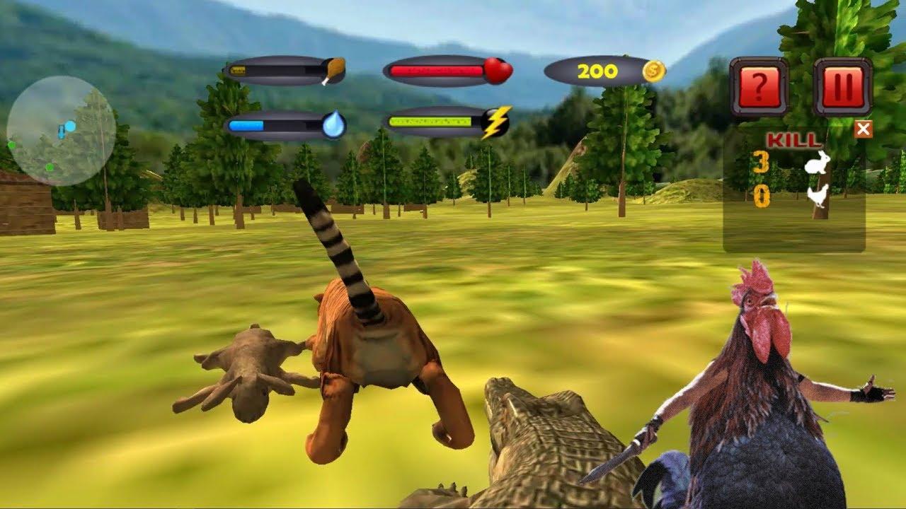 ► Ultimate Tiger Family Wild Animal Simulator Games – Wild Survival Tiger vs Hen & Rabbit