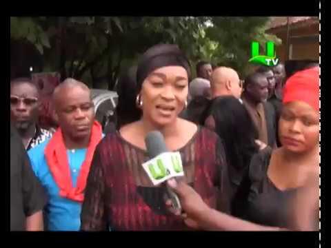 Ghana Actors Guild Consoles Capt Mahama's Family