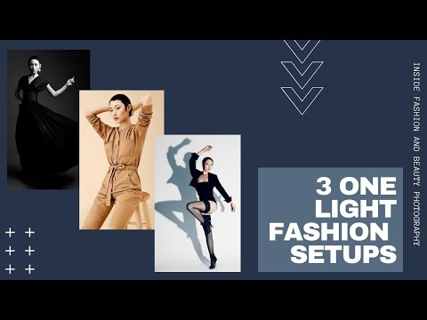 3 One-Light Fashion Setups | Inside Fashion and Beauty Photography with Lindsay Adler - Видео онлайн