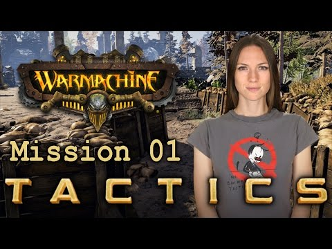 Warmachine Tactics Mission 01 - WarGamer Girl
