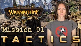 Warmachine Tactics Mission 01 - WarGamer Girl