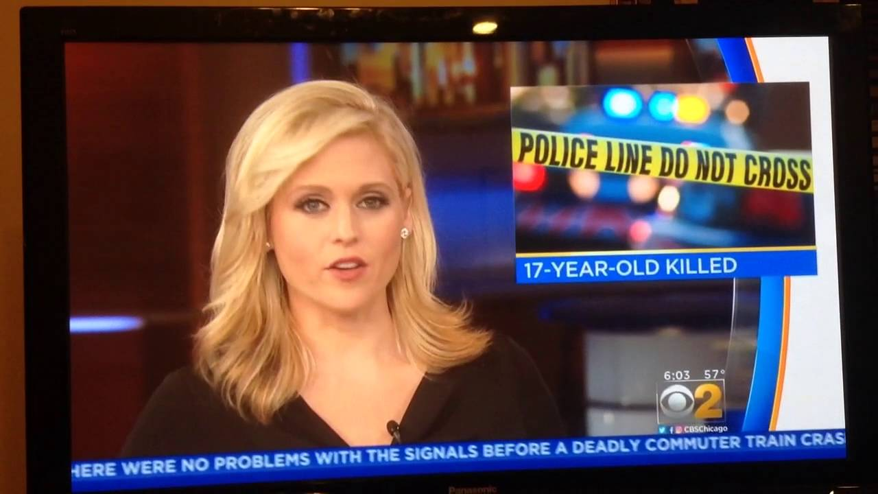 Marissa Bailey With Cbs 2 Chicago Sunday Morning News 10 2 2016