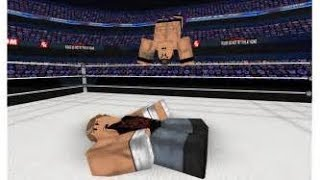 XCWE(Wrestling 2K18 Roblox) james_elmsworthv vs AJ vs Superstar For Cruiserweight Championship