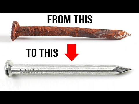How to Remove Rust from Metal Quickly - Home Made Solution