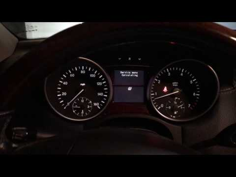 2008- 2012 Mercedes Benz ML/ GL Reset Service Light (Quick & Easy)