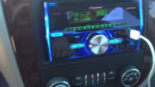 Pioneer Stereo Set-up on My Chevrolet Impala 2006
