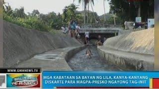 Tinubdan at Kuremo Spring sa Bohol, dinarayo ng mga kabataan ngayong tag-init