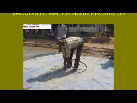 RIGID PAVEMENT CONSTRUCTION (CEMENT CONCRETE)