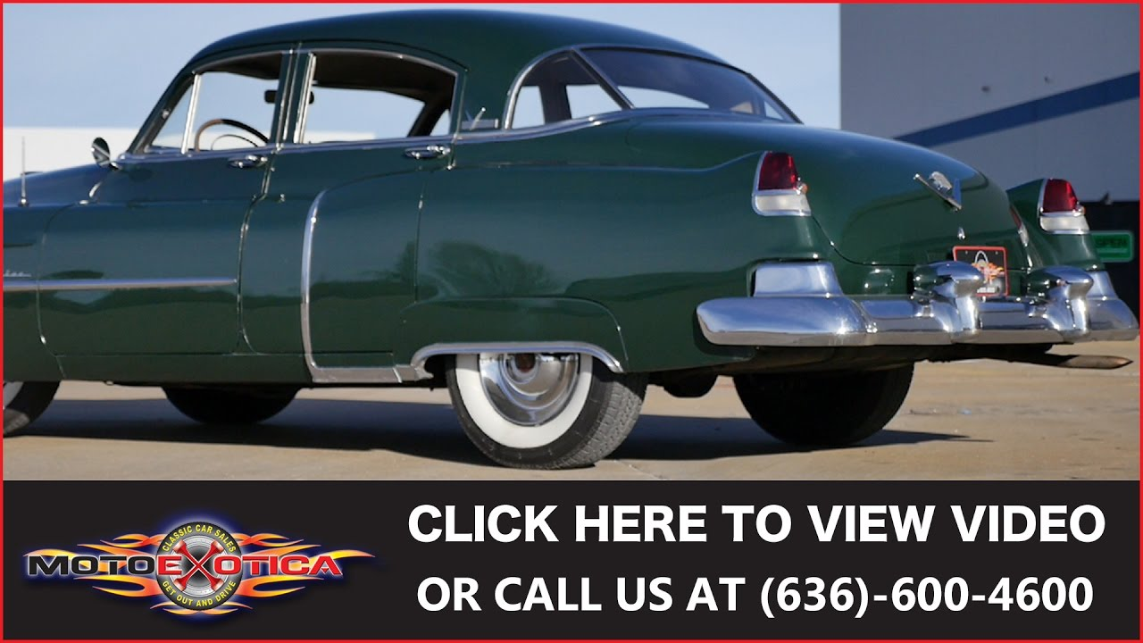 1951 Cadillac Series 61 Sold Youtube Coupe Deville For Sale