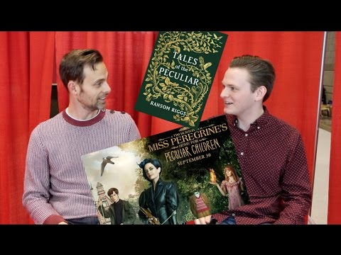 MISS PEREGRINE'S & TALES OF THE PECULIAR TALK with RANSOM RIGGS