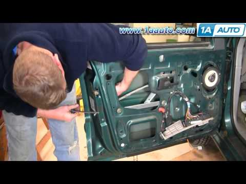 2015 How To Install Replace Power Door Lock Actuator Ford Explorer Lincoln Mercury 88-03 1AAuto.com