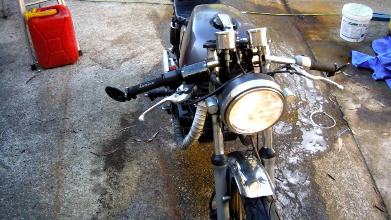 honda cb400n cafe racer/rat bike - youtube