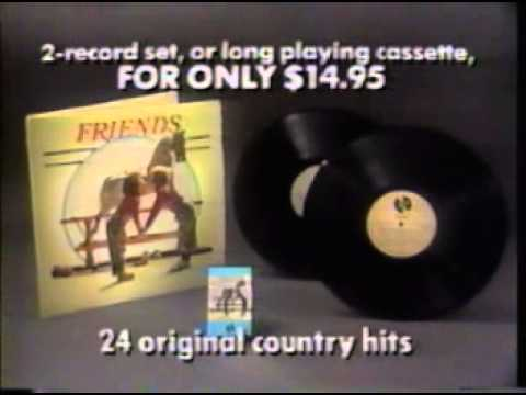 1988 Friends country music compilation album commercial