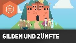 Was sind Gilden und Zünfte - Städte im Mittelalter ● Gehe auf SIMPLECLUB.DE/GO