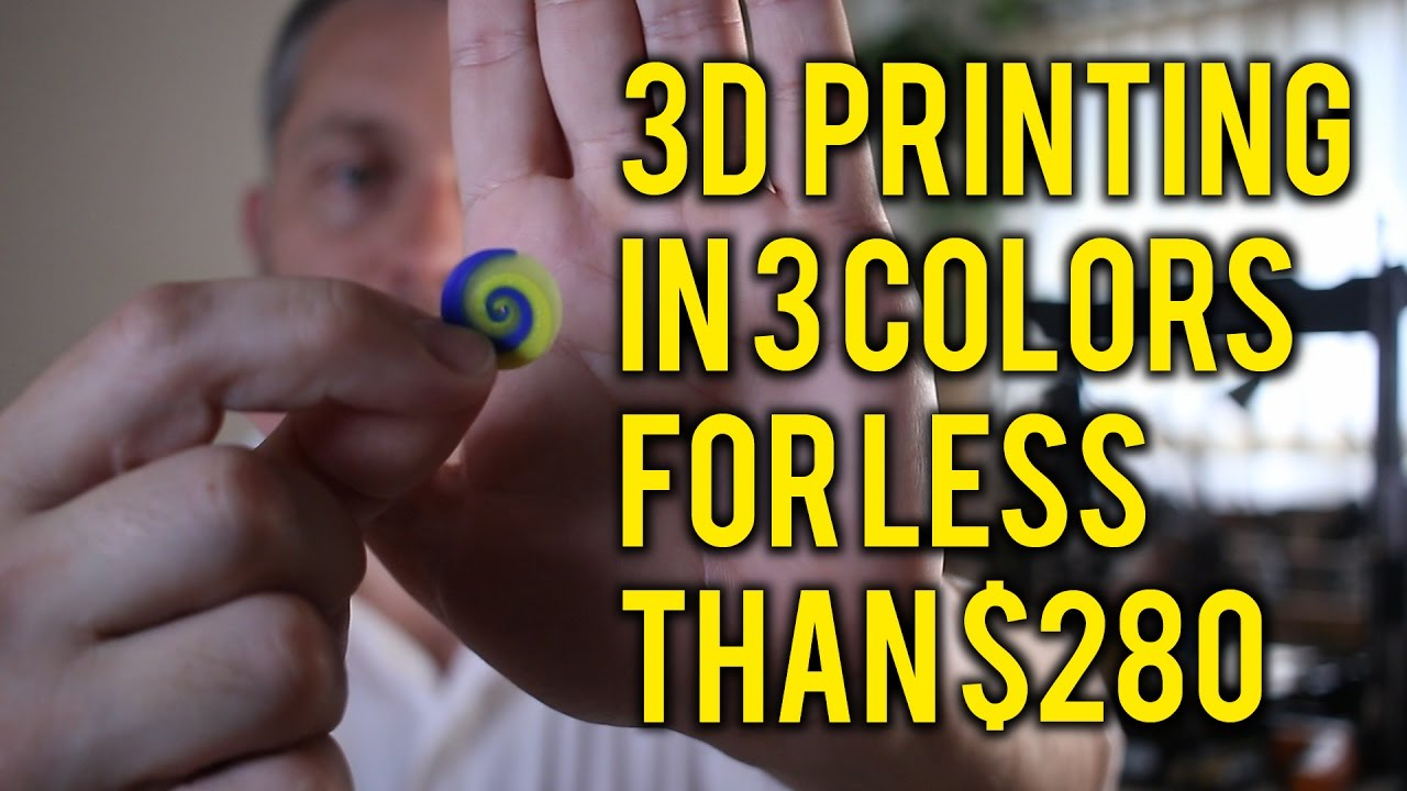 82173862169 Modifying a Cheap Chinese 3D printer for multi material color printing