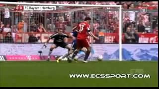 FC Bayern -  Hamburg 6-0