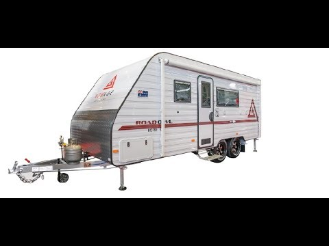 New Age Road Owl 19' Comfort Caravan Bunk Family