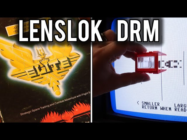 LensLok - Early 80's Anti-Piracy that frustrated | MVG