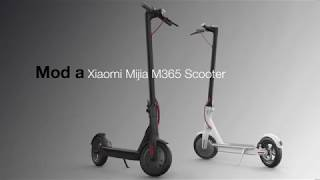Xiaomi Mijia M365 and M187 Scooter - modification guide