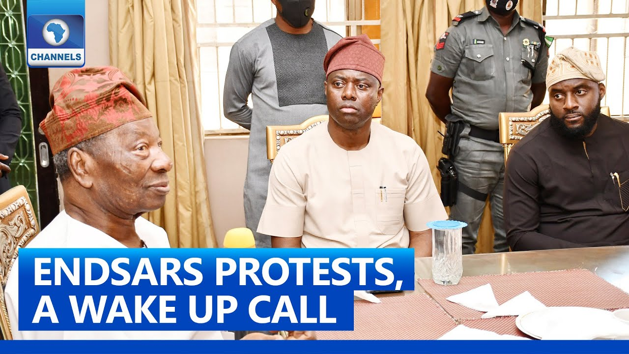 Gov Makinde Visit Ogbomoso Over The Soun and Others Attack By ENDSARS Protesters