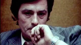 Alain Delon  Magnifique Interview (1975)