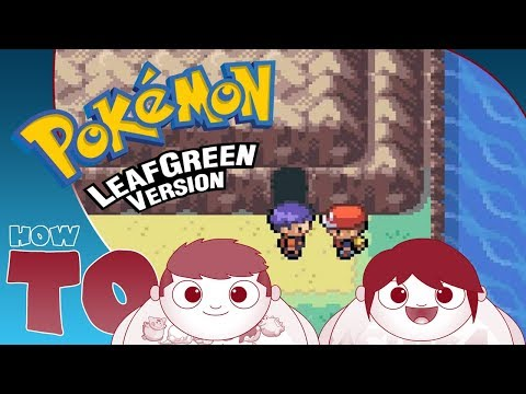 HOW TO ENTER CERULEAN CAVE   The Leaf Green & Fire Red Mewtwo Guide