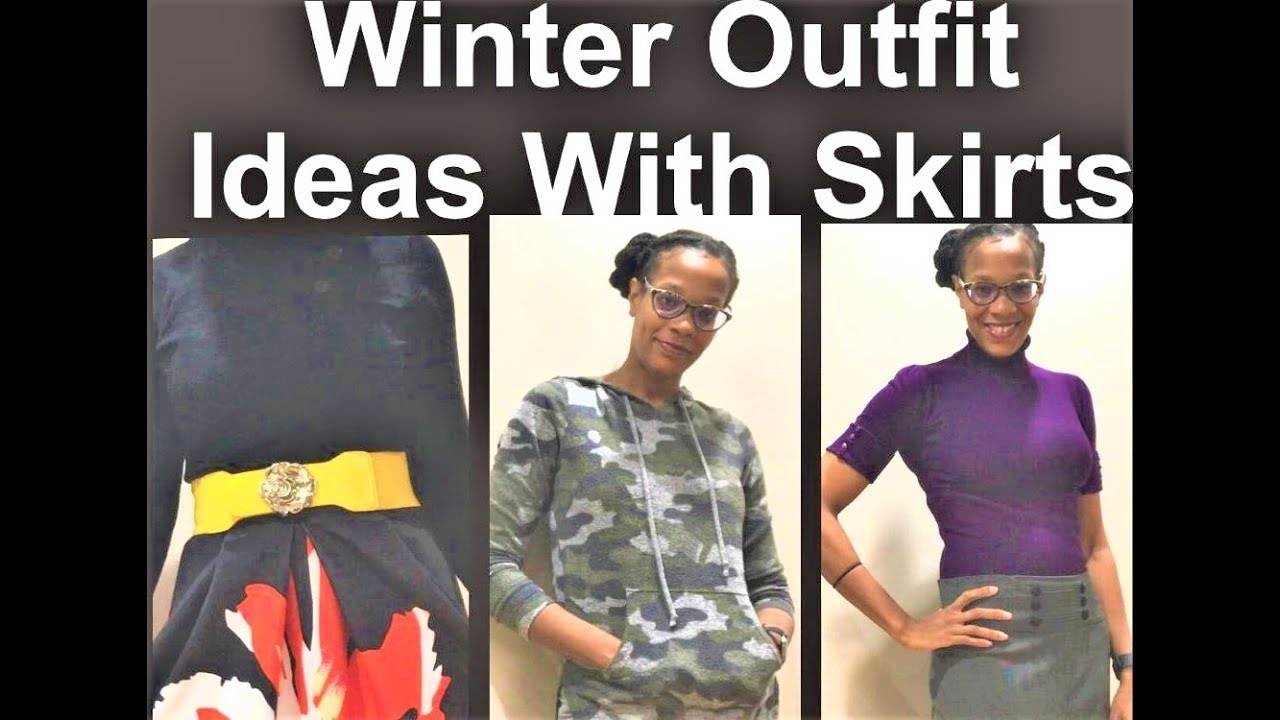 Winter Outfit Ideas With Skirts 1