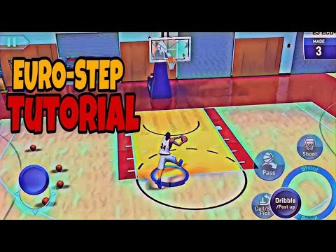 NBA2K19 ANDROID/IOS | EUROSTEP TUTORIAL