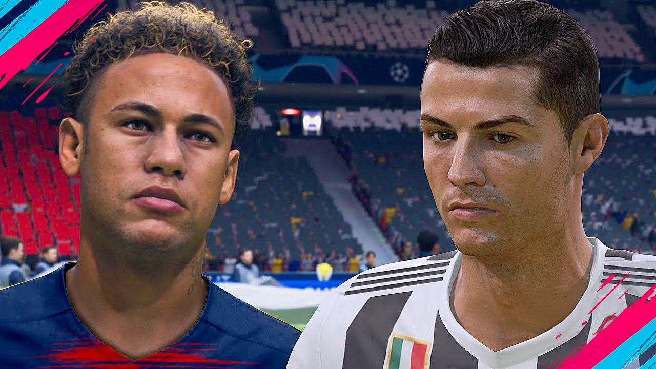 FIFA 19 GAMEPLAY! JUVENTUS VS PSG