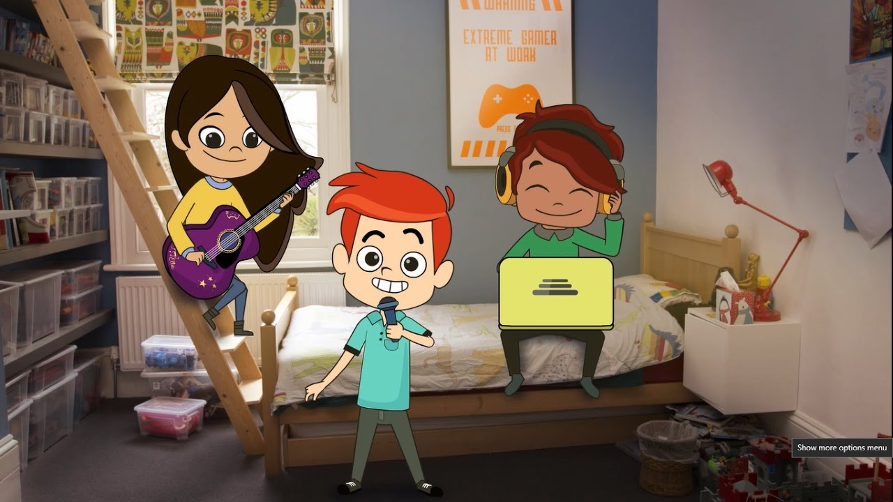 Play Like Share aims to help children learn how to stay safe online