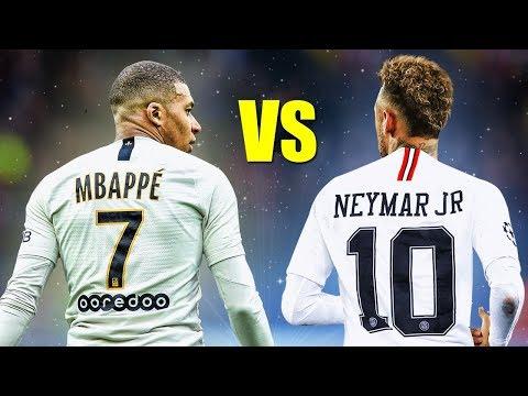 Neymar Jr Vs Kylian Mbappe ● Skills Battle | Who's The Most Skillful? 2019