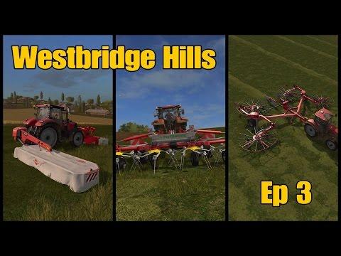 Let's Play Farming Simulator 17 PS4: Westbridge Hills, Ep 3