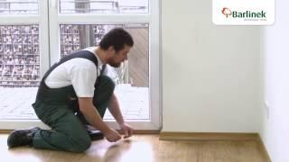 видео Плинтуса напольные деревянные шпонированные