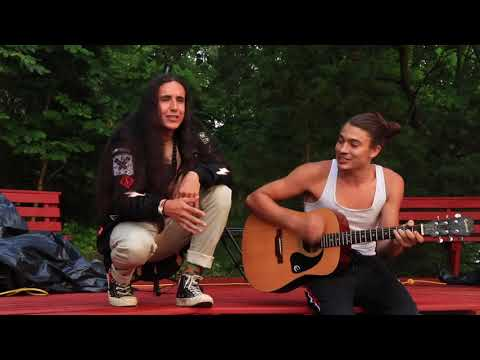 Xiuhtezcatl & Nobu Ollin | Open Mic Good Medicine Camp, AR | Geoff Kie Productions