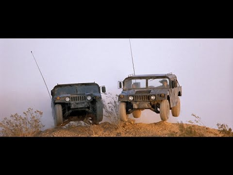 Broken Arrow -  Humvee Chase Scene (1440p)