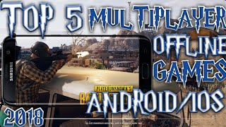 TOP 5 MULTIPLAYER OFFLINE GAMES FOR ANDROID/IOS