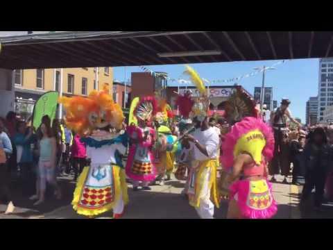 BAHAMAS JUNKANOO LEGENDS-- Ottawa Opening of Inspiration Village 2017